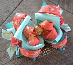 how to make girl bows how to stiffen your bows southwest style hair bow and teal