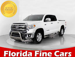 truck toyota tundra new and used toyota tundra for sale in miami fl u s news