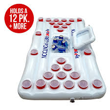 Amazon Ping Pong Table Amazon Com H2pong Inflatable Beer Pong Table With Built In Cooler