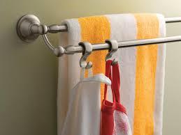 moen dn6822bn sage 24 inch bathroom double towel bar brushed