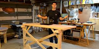 Building A Wooden Desk by How To Make A Standing Desk Business Insider