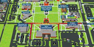 Asu Campus Map Uafs Campus Map Image Gallery Hcpr