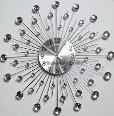 outdoor atomic wall clock large decorative wall clocks uk silver