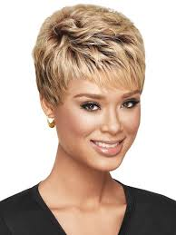 salt and pepper pixie cut human hair wigs textured pixie by sherri shepherd now color 3t 4 613 my