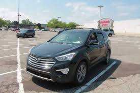 2013 hyundai santa fe limited used 2013 hyundai santa fe limited for sale in kalamazoo mi suv