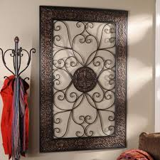 Kirklands Wall Decor Embossed Scroll Plaque Fireplace Design Living Rooms And Foyers