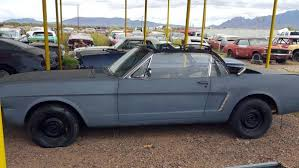 mustang project cars for sale desert 1965 mustang convertible project