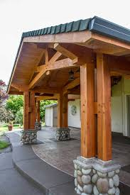 arrow timber the johnson covered patio post and beam arrow