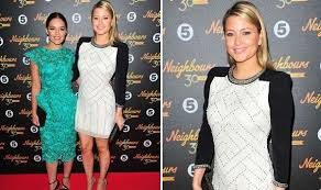 Holly Valance Discography Holly And Olympia Valance Wow In Stunning Dresses At Neighbours