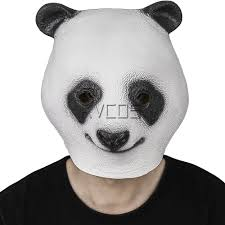 party city masks for halloween online get cheap rubber panda mask aliexpress com alibaba group