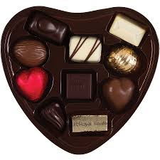heart chocolates corné port royal tin heart with 10 chocolates delivery in united