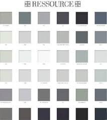 nuancier peinture chambre peinture chambre parentale couleur gris et blanc palette de