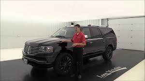 Lincoln Navigator 2015 Interior 2016 Lincoln Navigator L Select 4x4 16515t Youtube