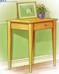 Green Accent Table Accent Table Plans U2022 Woodarchivist