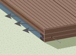how to install your composite decking wpc decking