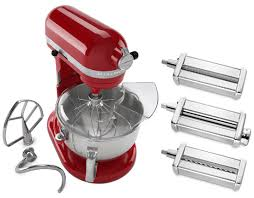 Kitchen Aid Pasta Press by Kitchenaid Stand Mixer And Pasta Set