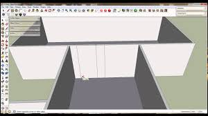 google sketchup fast house floor plan youtube