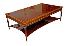 chippendale traditional english handmade square coffee table
