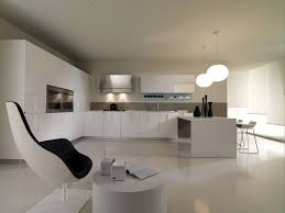 cuisine de luxe design design de cuisine de style minimaliste idées d aménagement