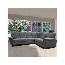 canap d angle coffre grand canapé d angle convertible et coffre dossier relaxation la