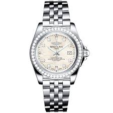 breitling bentley diamond breitling galactic 32 sleek edition diamond dial u0026 bezel ladies watch