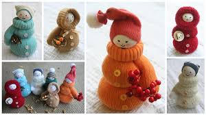 Christmas Decoration To Make At Home 7 Steps To Make Cute Mittens Doll Christmas Decorations Find Fun