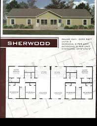 multi unit floor plans multi family modular floor plan pierce commercial structures