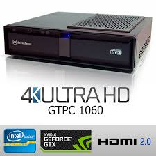 home theater computer case gtpc 1060 next generation 4k home theatre gaming pc intel