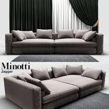 sofa minotti 3d model sofa minotti jagger cgtrader