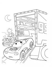 film cars 2 coloring book lightning mcqueen printable pictures