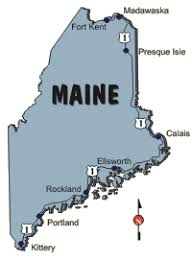 map us route 1 r route 1 in maine saylingaway
