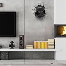 star wars living room win a 3dlightfx starwars deco light darthvader review