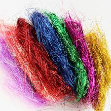foil shreds ifavor123 0 25mm metallic iridescent foil tinsel angel hair