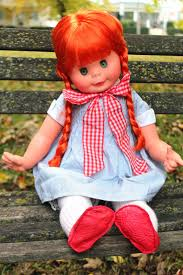 Different Shades Of Red Planet Of The Dolls Doll A Day 266 Teresa By Furga