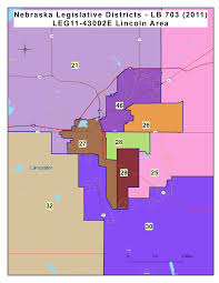 Zip Code Map Omaha by Legislative District Map Nebraska Council Of