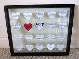 gifts for 1 year anniversary diy wedding anniversary gift in in