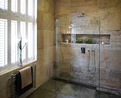 los angeles shower niche ideas bathroom midcentury with floating