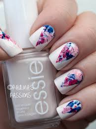 nagellack designs splatter nail designs to try in the season