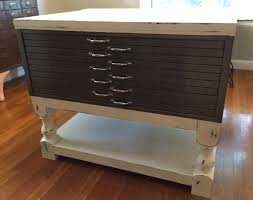 Wood Flat File Cabinet Ana White Coffee Table Plan Modified For Flat File Cabinet Table