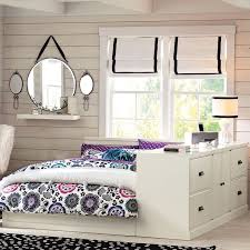 dresser with desk attached paramount bed dresser set pbteen