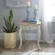ivory accent table ivory baroque accent table kirklands