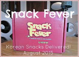 Snacks Delivered Harlot Beauty Snack Fever Korean Snacks Delivered August 2015