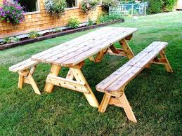 Picnic Table Frame Wooden Picnic Table Kits Home Depot Galvanized Frame Kit Canada