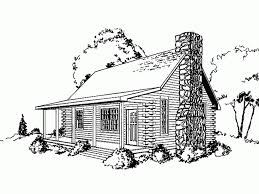 eplans log houses house plan one bedroom log houses 910 square