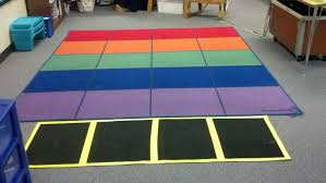 how big should my area rug be just love teaching classroom rug