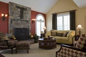 Livingroom Paint Colors by Home Paint Colors Combination Modern Living Room With Fireplace