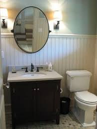 craftsman style bathroom ideas beadboard cabinet bathroom remodel craftsman