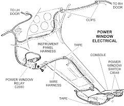 power window electrical diagram view chicago corvette supply