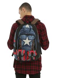 captain america spirit halloween marvel captain america civil war built up backpack topic