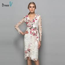 cocktail dress dressv v neck sleeves cocktail dress sheath appliques lace